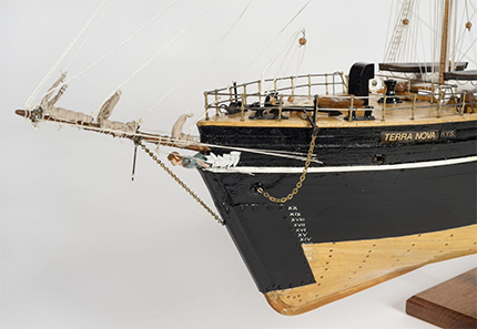 Ship Models go on permanent display at The McManus